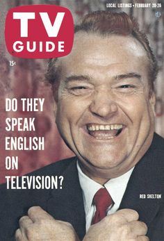 1960 TV Guide Feb 20 Red Skelton - New England edition - No Mailing Label Very Good