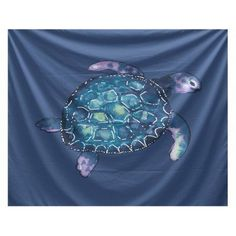 Add a sense of coastal serenity to your decor with the E By Design Beach Vacation Sea Turtle Wall Tapestry. This chic tapestry is available in multiple nautical color schemes to complement your decor. Tapestry Wallpaper, Dorm Tapestry, Blue Tapestry, Tapestry Bedroom, Nautical Colors, Beach Room, Woven Wall Hanging, Color Schemes, Sea