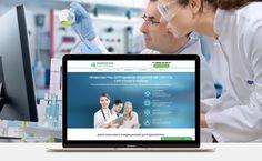 LP медицинские услуги #lp #landingpage #дизайн #сайт #вебстудия #фрилансер