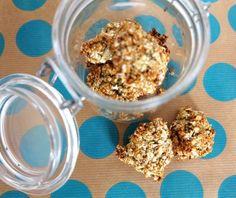 Low Carb Cookies | Rezept mit Haferflocken und Bananen