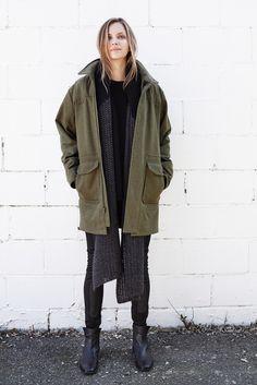 Ryan Army Coat | Emerson Fry