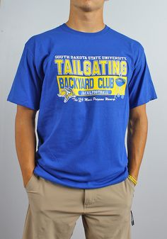 b190f07b226 Tailgating is a football tradition! Pick up this Jackrabbit t-shirt to show  off
