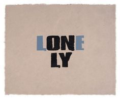 lonely typography expression - Google Search