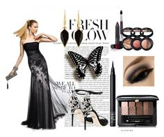 Tulle Prom Dress With Lace by johnnymuller on Polyvore featuring…