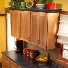 Home Renovation Diy 42 Cheap And Easy Home Upgrades That Will Make Your Home Look More Expensive - Going through a home renovation is actually the worst. Time to take matters into your own hands. Above Kitchen Cabinets, Upper Cabinets, Kitchen Redo, New Kitchen, Kitchen Remodel, Wall Cabinets, Kitchen Shelves, Cabinet Shelving, Cabinet Decor