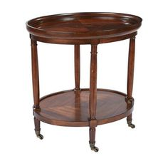 End table in library