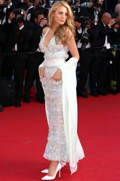 Blake Lively in Chanel - Cannes Fashion - Red Carpet Dresses at Cannes 2014 - Harper's BAZAAR