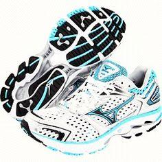 Mizuno running shoes.