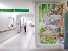 *호주 멜버른 로얄 칠드런 병원 [ Büro North & Jane Reiseger ] The Royal Children's Hospital Melbourne :: 5osA: [오사]