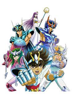 Saint Seiya Anime Tattoos, Dragon Ball Z, Ghost Rider, Manga Anime, Anime Mangas, Anime Comics, Sacred Saga, Comic Covers, Naruto