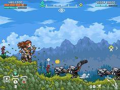 Horizon Zero Dawn Pixel Art. #HorizonZeroDawn #PixelArt #retrogaming #ps4 #playstation #awesome #gaming