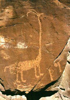 Fremont, Anasazi and Ute rock art petroglyphs & pictographs at Nine Mile Canyon, Utah