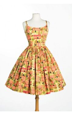 Pinup Couture Tiki Jenny Dress (size 2X)