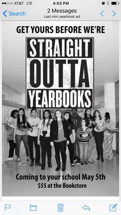 This would be a cute idea to get people to buy yearbooks. – I really like this marketing tact… This would be a cute idea to get people to buy yearbooks. – I really like this marketing tactic! Student Life Yearbook, Middle School Yearbook, Teaching Yearbook, Yearbook Class, Yearbook Pages, Yearbook Spreads, Yearbook Covers, Yearbook Layouts, Yearbook Design