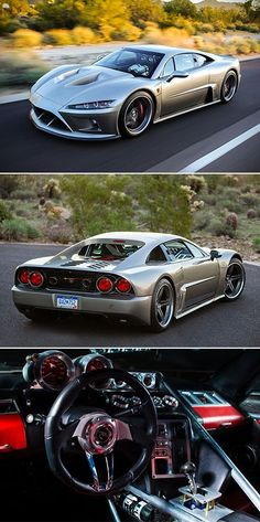 Falcon F7 is American #Supercar Powered by 1100HP V8 Engine, Touted as #Ferrari Fighter