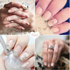 Elegant Wedding Nail Art Designs