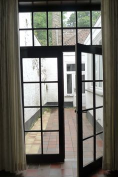 courtyard, from the breakfast room