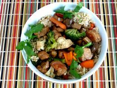 Baking and Cooking, A Tale of Two Loves: Chicken Stir Fry with Honey Orange Sauce