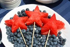 Use a Wilton star-shaped cookie cutter to cut out these star-spangled treats!