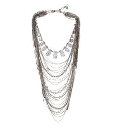 CASCADE LAYERED NECKLACE