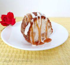 2 Ingredient Apple Angel Food Cake - Joyful Homemaking