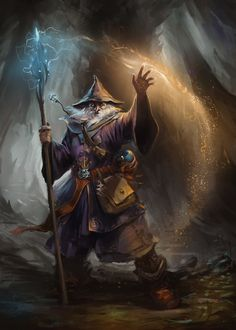 Wizard by gerezon.deviantart.com on @deviantART