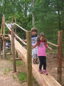 Natural playground, CT Awaken a sense of discovery in children AND parents