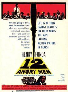 12 hommes en colère de Sidney Lumet (1957).