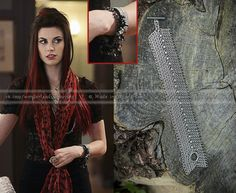 ONCE UPON A TIME // Ruby bracelets // Chainmail bracelets // Red Riding Hood //