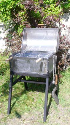 Jeobest Barbecue Grill Fumoir Américain au Charbon de Bois