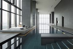 hotel pool AMAN tokyo japan - Best Urban Hotels the winners Indoor Pools, Lap Pools, Piscina Do Hotel, Online Interior Design Services, My Pool, Pool Water, Pool Spa, Hotel Pool, Hotel Ibiza