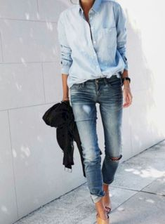 Gorgeous 54 Best Tomboy-chic Outfit Ideas
