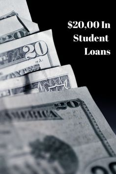The Difference $20,000 In Student Loans Can Make Student loan forgiveness #debt #college #studentloan