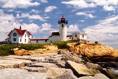 Eastern Point lighthouse, Gloucester, MA