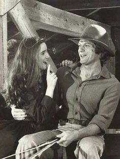Manly and Beth....LOVE this pic!