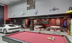 Dream garage/mancave