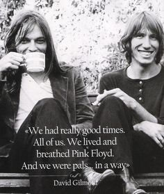 David Gilmour and Roger Waters..