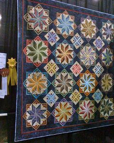 "Nellie's Needles: ""Special Award"" Winning Quilts. Pattern is Eldon from Laundry Basket Quilts."