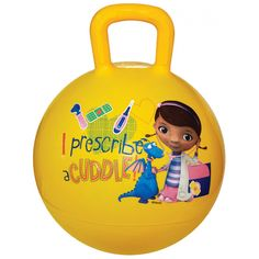 Doc McStuffins Hopper Ball from Funstra Toys