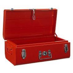 Buy Red House by John Lewis Trunk from our Chests, Trunks & Ottomans range at John Lewis & Partners. Storage Trunk, Storage Chest, Buy House, Well Thought Out, Home Buying, Contemporary, Modern, John Lewis, Trunks