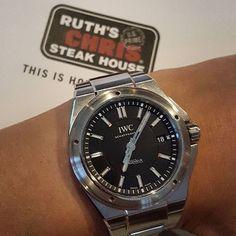 The carrot at the end of the stick #thedivewatchconnection #wristporn #womw #wotd #watches #wristwatch #watchporn  #dailywatch #horology #instawatch #watchoftheday #timepiece #watchesofinstagram #watchuseek #watchfam #wristshot #wristcandy #watchnerd #wristgame #iwc #iwcwristshots #lasvegas by _dennis_sf