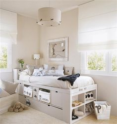 Great teen room setup w. Teen Bedroom, Bedroom Decor, Hideaway Bed, Shabby Chic Bedrooms, Awesome Bedrooms, New Room, Small Rooms, Girl Room, Home Decor
