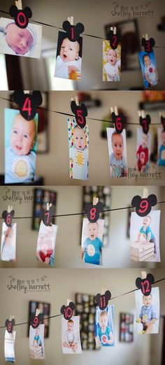 Best Ideas For Party Ideas Theme Mickey Mouse Minnie Mouse Party, Mickey Mouse Clubhouse Birthday Party, Mickey Birthday, Baby First Birthday, Boy Birthday Parties, Birthday Ideas, 1 Year Old Birthday Party, Mickey Mouse Birthday Decorations, Baby Mickey Mouse Cake