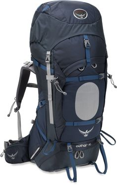 Slip on the Osprey Aether 70 pack and enjoy the comfort of a custom, heat-moldable hipbelt and a superb, lightweight design for enhanced load support on extended backcountry adventures. Rei Camping, Backpacking Hammock, Backpacking Gear, Hiking Gear, Rucksack Backpack, Hiking Backpack, Travel Backpack, Osprey Aether, Trekking
