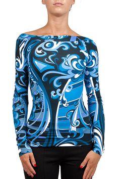 Groppetti Luxurystore MAGLIA COLLO A GIRO - Abbigliamento - Donna #emiliopucci #pucci #emilio