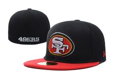 NFL San Francisco 49ers New Era Fitted Hats Size Caps