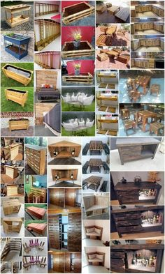 Quick and Easy to Build Wood Pallet Projects