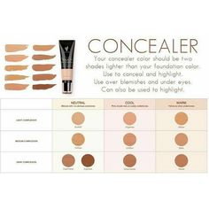 choose the right shade of younique liquid concealer Click on my link to order yours today!! https://www.youniqueproducts.com/BindysBeauty