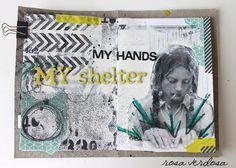 rosa verdosa: Art journal...shelter