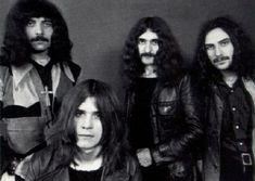 Black Sabbath are an English rock band, formed in Aston, Birmingham in 1969 by Ozzy Osbourne (lead vocals), Tony Iommi (guitar), Geezer Butler (bass guitar), and Bill Ward (drums). Originally formed in 1968 as a heavy blues rock band named Earth and renamed to Black Sabbath in 1969, the band began incorporating occult and horror-inspired lyrics with tuned-down guitars and achieving multiple platinum records in the 1970s. Black Sabbath are cited as pioneers of heavy metal.